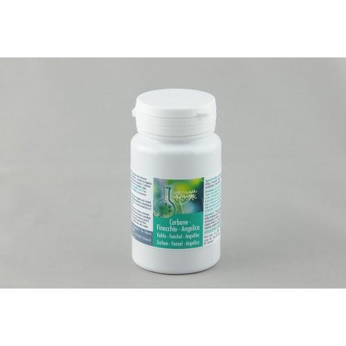 CARBONE-FINOCCHIO-ANGELICA (Gonfiore-Digestione-Dissenteria-Fermentazione-Aerofagia-Flatulenza)