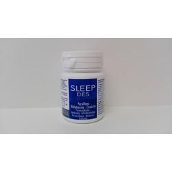 SLEEPDES Passiflora-Escolzia-Melatonina (Insonnia-Addormentamento-Jet lag-Rilassamento-Stress-Benessere mentale)